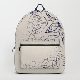 Ornate Star with Arabesque Line Backpack