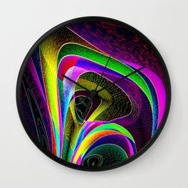magneto-dynamic Wall Clock