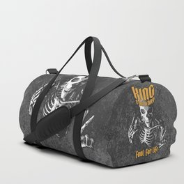 King For A Day Skull Duffle Bag