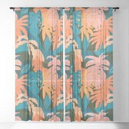 Plant Aloha Sheer Curtain