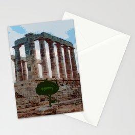 Sounion Cape Stationery Cards