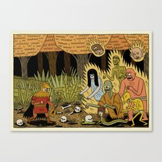 The Woodland Ghosts Canvas Print