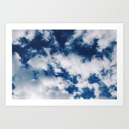 Skies of Blue Art Print