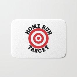 Home Run Target Bath Mat