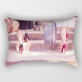 On Holiday Rectangular Pillow