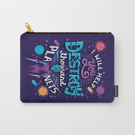A Thousand Planets Carry-All Pouch