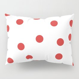 red spotted Pillow Sham