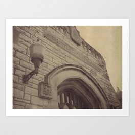 Public Library Art Print