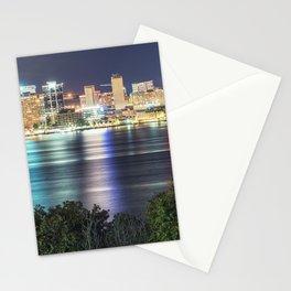 Halifax Skyline Panorama Stationery Cards
