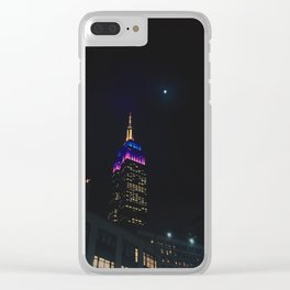 Empire and the Moon Clear iPhone Case