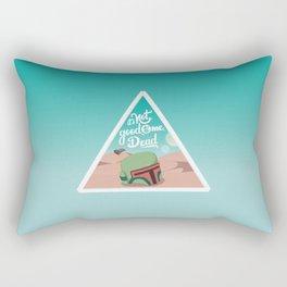 It's not good to me dead Rectangular Pillow