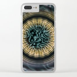 Primal Energy Vibrations Clear iPhone Case