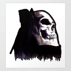 Le Mort Art Print