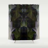 warrior Shower Curtains featuring WARRIOR by ED design for fun