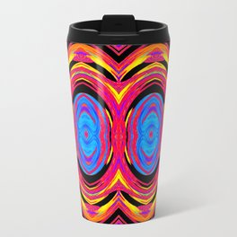 Psychedelic Swirls Travel Mug