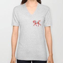 Real Dala Horse #2 Unisex V-Neck