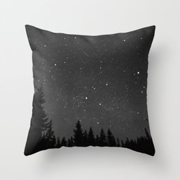 a speck of dust Throw Pillow