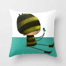 I like Birds Throw Pillow