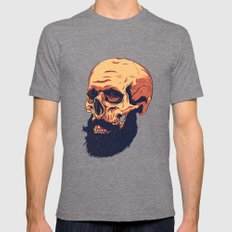 Mr. Skull Tri-Grey Mens Fitted Tee X-LARGE