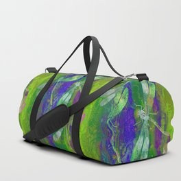 A Dragonflies QD Duffle Bag