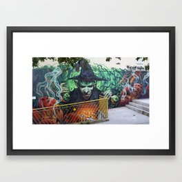 """Magic Poison"" Framed Art Print"
