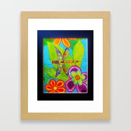 Dragonfly by Anthony Davais Framed Art Print