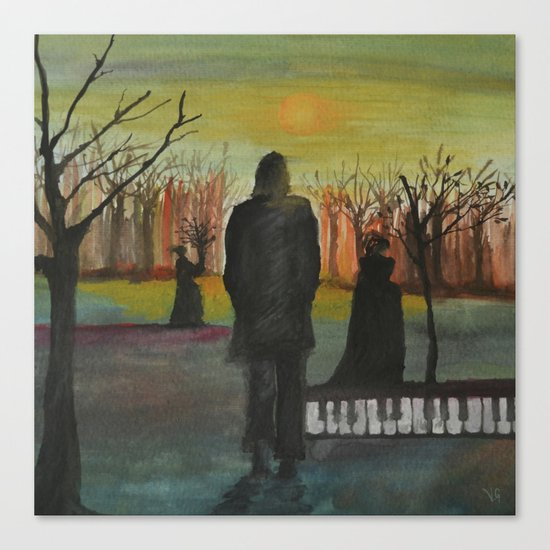 Track 2: The path of the righteous man.   Canvas Print