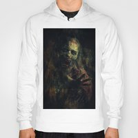 zombie Hoodies featuring Zombie by Sirenphotos