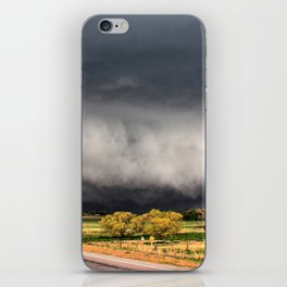Tornado Day - Storm Touches Down in Northwest Oklahoma iPhone Skin