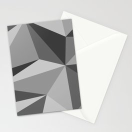 Different shades of Grey Stationery Cards