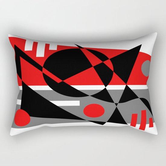 Abstract #353 Rectangular Pillow