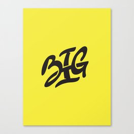 BIG Canvas Print