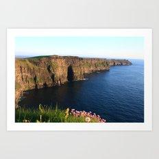 Cliffs of Moher In Evening Light Art Print