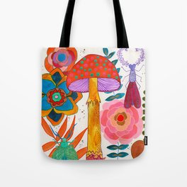 Gathering Story Seeds Tote Bag
