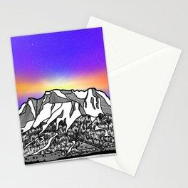 Zugspitze Germany Mountain Stationery Cards