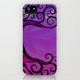 Tree of Life - Hot Pink iPhone Case