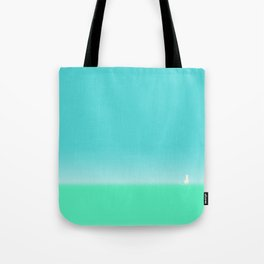 A Cat on a journey Tote Bag