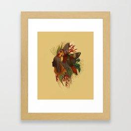 Natural Dark Framed Art Print