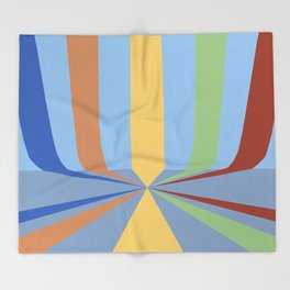 The Rainbow Room Throw Blanket