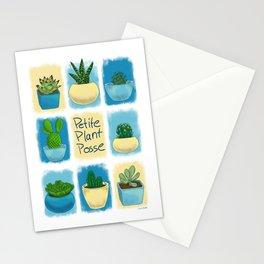 Petite Plant Posse Stationery Cards