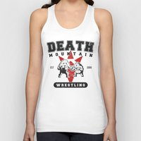 wrestling Tank Tops featuring Death Mountain Wrestling by Nick Overman