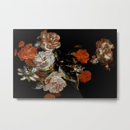 Floral Masterpiece Painting Metal Print