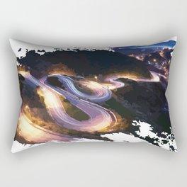 Serpentines Transfagarasan Rectangular Pillow