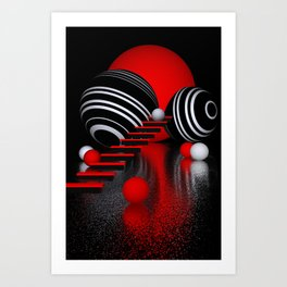 3D for your home -5- Art Print