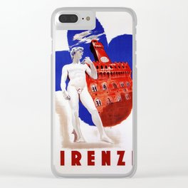 Visit Florence Clear iPhone Case