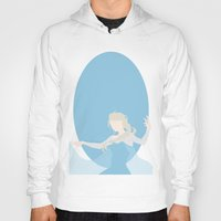 elsa Hoodies featuring Elsa by Polvo