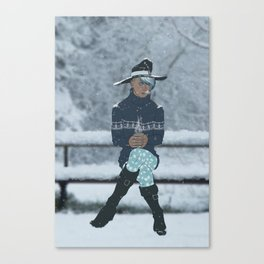 Sea Witch - A Season's Greeting Canvas Print