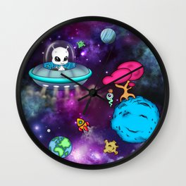 Space Buddies Wall Clock