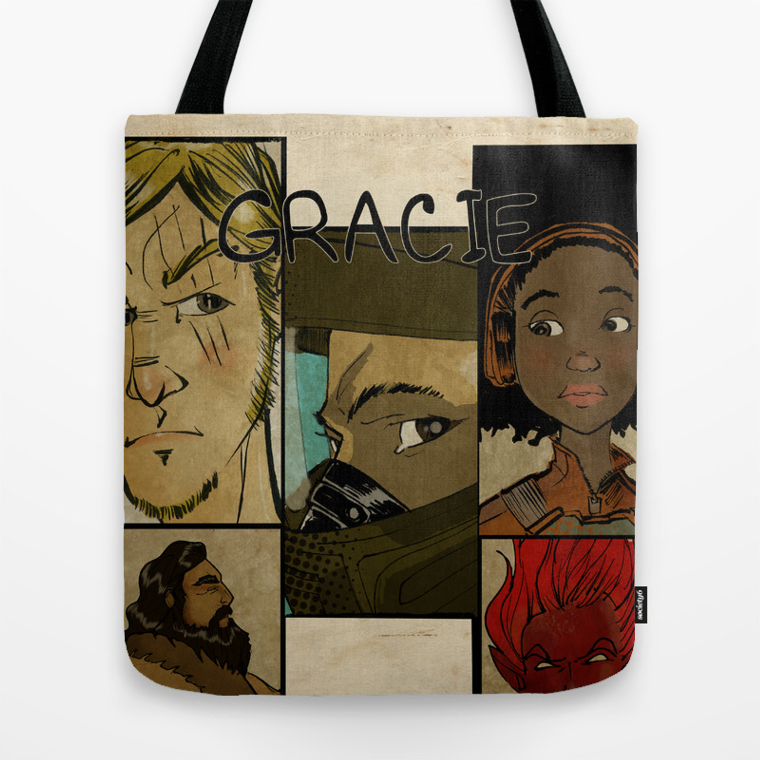 Gracie Promo Tote Bag By Philliplowe Society6
