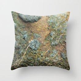 River Rock Texture 1 Throw Pillow